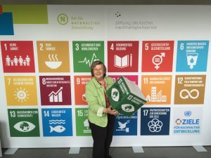 Baerbel and the 17 SDGs